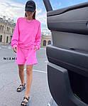 Жіночий костюм, турецька двунить, р-р 42-44; 44-46 (рожевий), фото 3