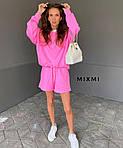 Жіночий костюм, турецька двунить, р-р 42-44; 44-46 (рожевий), фото 4