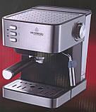 Кофемашина, кофеварка Сrownberg CB-1565 1000W с капучинатором, фото 2