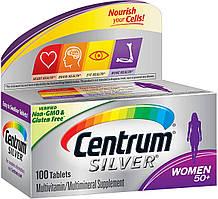 Centrum мультивитамины для женщин 50+,  100 таблеток