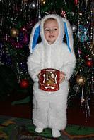Новогодний костюм зайчика на 2 года на прокат, фото 1