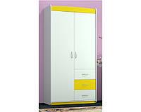 Шкаф ORIS Modern (Бело-Желтый)