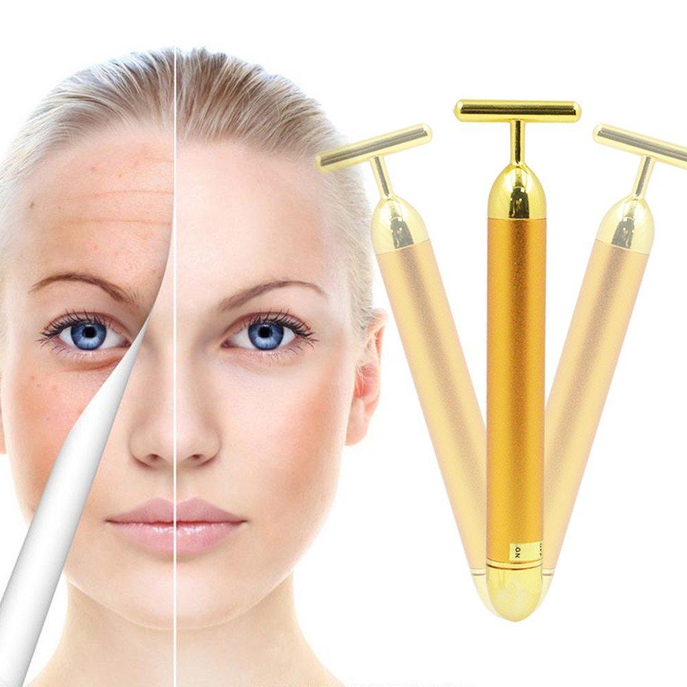 Іонний масажер для молодої шкіри шкіри обличчя Energy Beauty Bar, масажер для обличчя