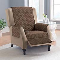 Накидка на кресло Couch Coat, покрывало на кресло двухстороннее, фото 5