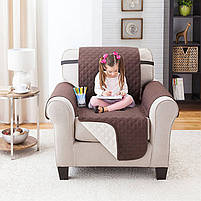 Накидка на кресло Couch Coat, покрывало на кресло двухстороннее, фото 9