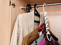 Вешалка-органайзер для одежды Wonder Hanger ( Чудо-вешалка ), цвет белый , фото 4