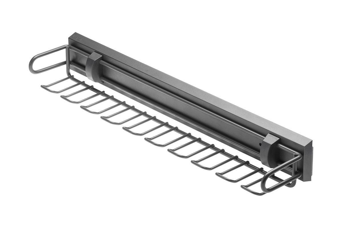 Вешалка для ремней и галстуков GTV SMART (без направляющих), графит (W-WKRP-BP-60)