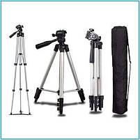 Штатив для камеры и телефона Photo Tripod 3110 (35-103 см) , трипод тренога для смартфон, фото 2