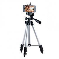 Штатив для камеры и телефона Photo Tripod 3110 (35-103 см) , трипод тренога для смартфон, фото 7