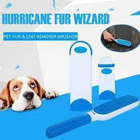 Щетка для чистки шерсти Hurricane Fur Wizard НАБОР, уборка шерсти, набор для уборки шерсти, щетка для мебели, фото 4