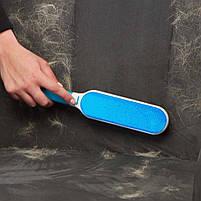 Щетка для чистки шерсти Hurricane Fur Wizard НАБОР, уборка шерсти, набор для уборки шерсти, щетка для мебели, фото 7
