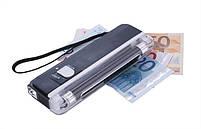 Детектор валют Kronos DL01 портативный на батарейках, ультрафиолетовый детектор купюр, сканер денег , фото 3