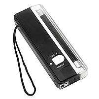 Детектор валют Kronos DL01 портативный на батарейках, ультрафиолетовый детектор купюр, сканер денег , фото 7