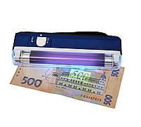 Детектор валют Kronos DL01 портативный на батарейках, ультрафиолетовый детектор купюр, сканер денег , фото 9