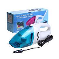 Потужний і компактний автомобільний пилосос High-power Portable Vacuum Cleaner 60W 12V від прикурювача, фото 2