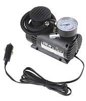 Компрессор для подкачки колес автомобильный Air Compressor 250 psi с манометром + набор иголок, насос 12V, фото 6