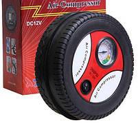 Компрессор для подкачки колес автомобильный КОЛЕСО Air Pump 250 psi с манометром + набор иголок, насос 12V, фото 6