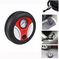 Компрессор для подкачки колес автомобильный КОЛЕСО Air Pump 250 psi с манометром + набор иголок, насос 12V, фото 7