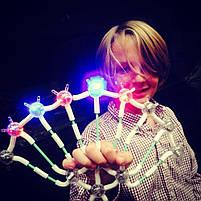Светящийся конструктор Light up links 158 деталей, конструктор линкс, конструктор для детей, НОВИНКА, фото 5