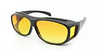 Окуляри для водіїв антифари HD Vision 2шт (жовті, чорні), антиблікові окуляри, полар плюс, фото 7
