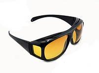 Окуляри для водіїв антифари HD Vision 2шт (жовті, чорні), антиблікові окуляри, полар плюс, фото 8