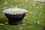 Костровая чаша  с аргентинской решеткой гриль от Smoke House, фото 8