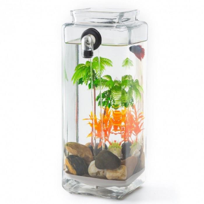 """Акваріум самоочисний """"My Fun Fish"""" для риб, акваріум для риб, міні акваріум, маленький акваріум"""