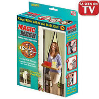 Антимоскітна сітка Magic Mesh 200см Х 100см, москітна сітка, москітна сітка опт, сітка меджик, сітка оптом, фото 4