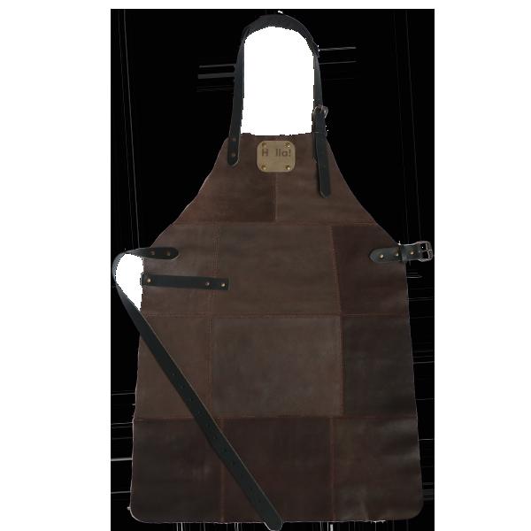 Фартух для гриля темно-коричневий Holla Grill
