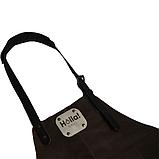 Фартух для гриля темно-коричневий Holla Grill, фото 2