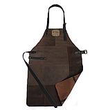 Фартух для гриля темно-коричневий Holla Grill, фото 3