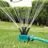 Спринклерний зрошувач multifunctional Water Sprinklers розпилювач для газону, полив газону, догляд за газоном, фото 2
