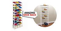 Органайзер для взуття на 30 пар Amazing shoe rack, полиця для взуття на 30 пар, фото 2