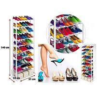 Органайзер для взуття на 30 пар Amazing shoe rack, полиця для взуття на 30 пар, фото 3