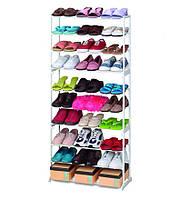 Органайзер для взуття на 30 пар Amazing shoe rack, полиця для взуття на 30 пар, фото 5