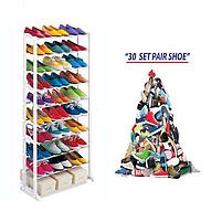 Органайзер для взуття на 30 пар Amazing shoe rack, полиця для взуття на 30 пар, фото 6