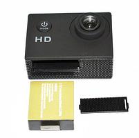 Відеокамера Екшн камера Action Camera D600 з боксом і кріпленнями, портативна камера, фото 5