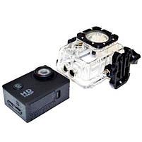 Відеокамера Екшн камера Action Camera D600 з боксом і кріпленнями, портативна камера, фото 6