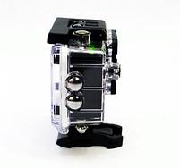 Відеокамера Екшн камера Action Camera D600 з боксом і кріпленнями, портативна камера, фото 7