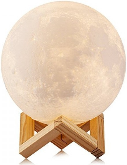 """3D Светильник """"Луна"""" 3D MOON LAMP 15см 5 Режимов , ночник в виде луны"""