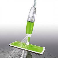 Розумна швабра 3 в 1 з розпилювачем Healthy Spray Mop Deluxe, зелений колір, фото 5