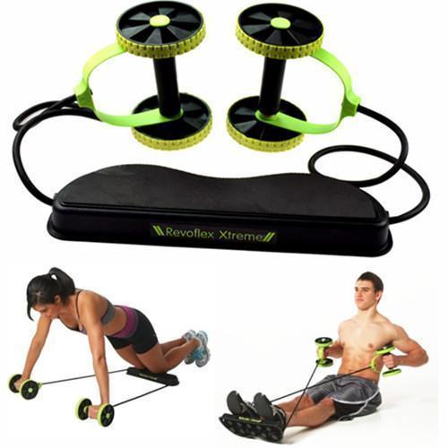 Домашній тренажер Revoflex Xtreme з 6-ма рівнями тренування, чорний колір