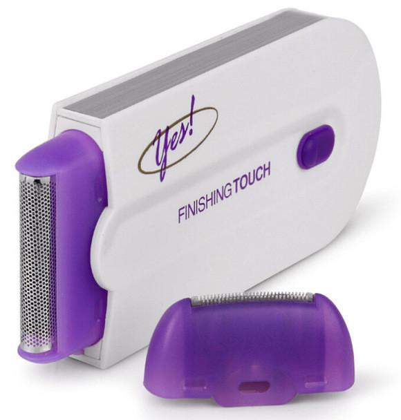 Сенсорный эпилятор-депилятор для удаления волос Finishing Touch YES, цвет белый