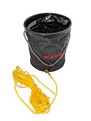 Відро Kaida з мотузкою на карабіні, фото 2