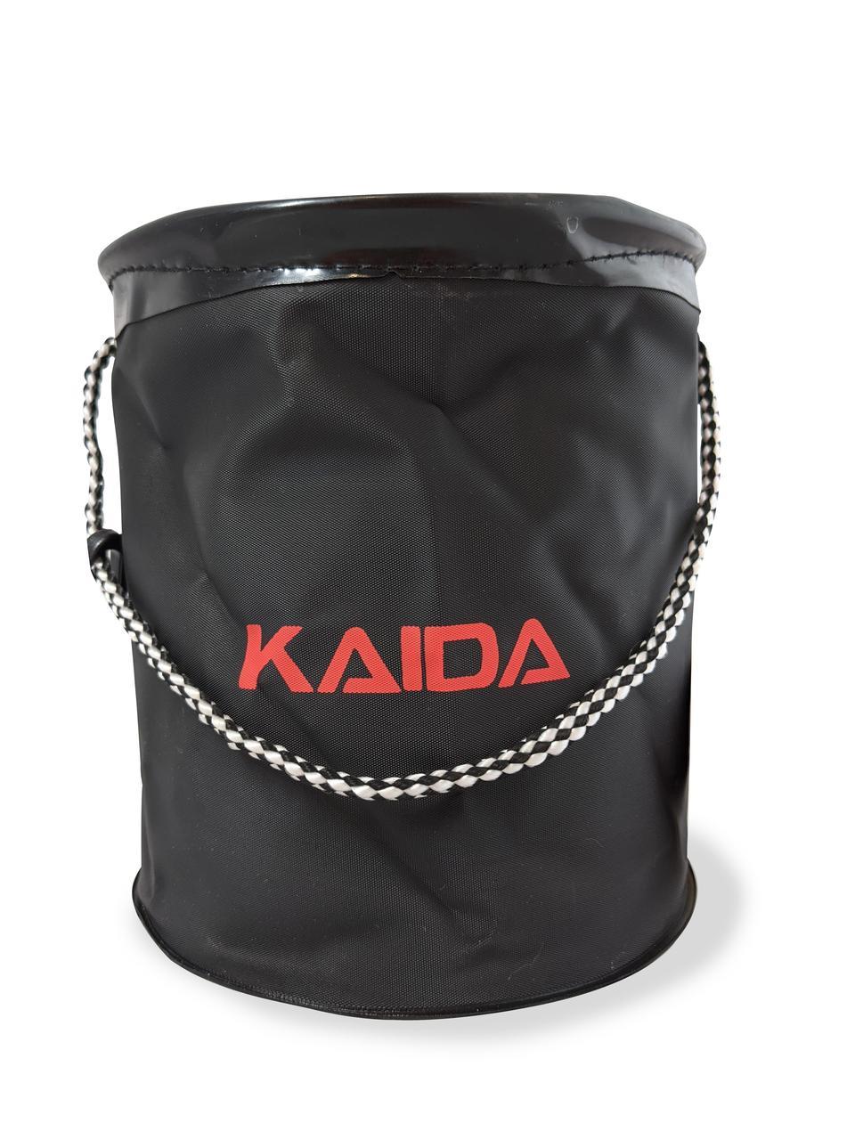 Відро Kaida з мотузкою на карабіні