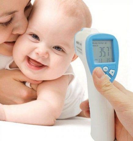 Точный бесконтактный термометр Non-contact для измерения температуры тела, води и тд