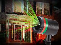 Мощный Лазерный проектор STAR SHOWER Laser Light, праздничное освещение, гирлянда на дом 3mW, фото 3
