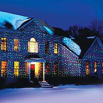 Мощный Лазерный проектор STAR SHOWER Laser Light, праздничное освещение, гирлянда на дом 3mW, фото 6