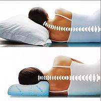 Ортопедична подушка Comfort Memory Pillow з наволочкою, подушка з пам'яттю, фото 2