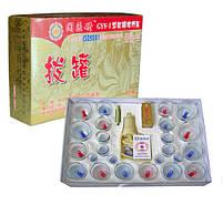 """Антицелюлітні масажні банки набір з 24шт """"KangZhu"""" + насос, масажер від целюліту, фото 8"""